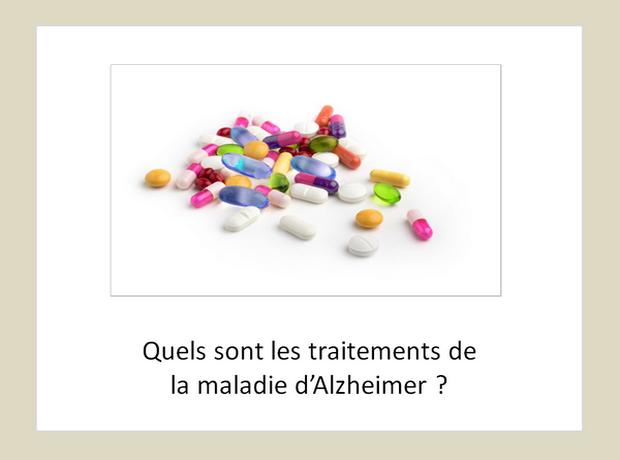 Quels sont les traitements de la maladie d'Alzheimer ?