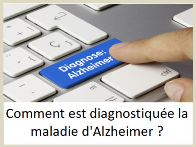 Comment est diagnostiquée la maladie d'Alzheimer ?