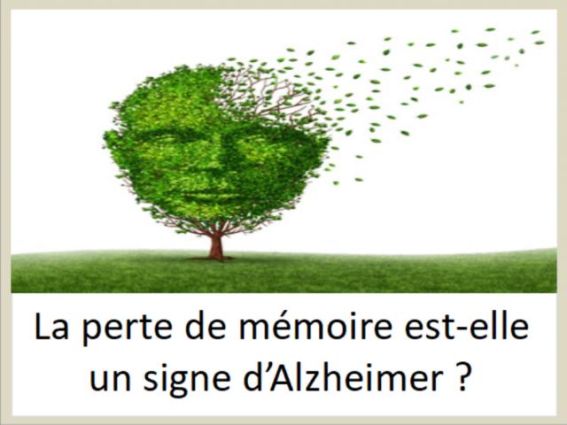 La perte de mémoire est-elle un signe d'Alzheimer ?